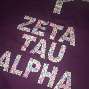 ZTA crewneck sweatshirt